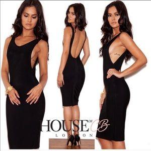 House of CB Rafaella bandage dress